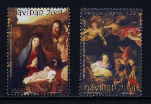 Uruguay 1936-7 MNH Christmas, Art, Adoration of the Shepherds