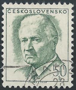 Czechoslovakia #1540A 50h Pres Ludvik Svoboda