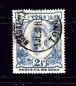 Tonga 58 Used 1934 issue