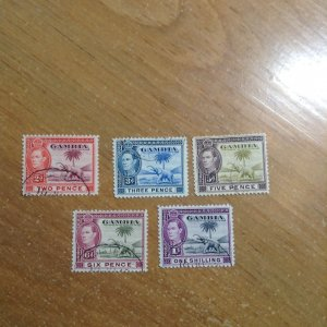 Gambia  # 135A-38  Used