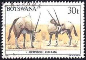 Botswana # 416 used ~ 30t Animals Definitive