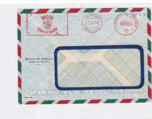 angola 1965 airmail  stamps cover  Ref 10018