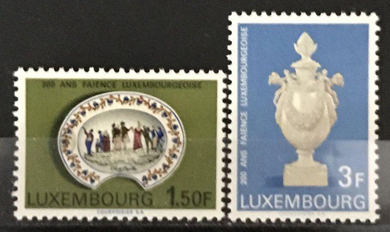 Luxembourg 1967 #456-7, MNH