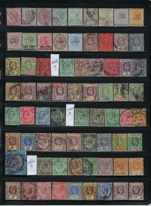 STRAITS SETTLEMENTS QUALITY COLLECTION: 140 STAMPS (32 MINT OTHERS USED)