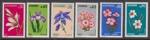 Andorra 222-7 Flowers mnh