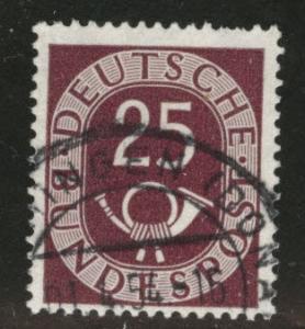 Germany Scott 678 used 1951-1952 stamp CV$4.50