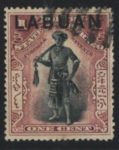 Labuan Sc#72 Used