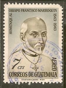 Guatemala  Scott  C317      Bishop     Used