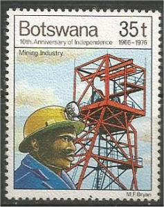 BOTSWANA, 1976, MNH 35t, Mining industry Scott 173