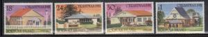 Norfolk Islands 283-6 Christmas and Churches Mint NH