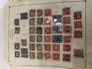 Austria Old Stamps On Pages Very Nice Might Find Sone Gems & Full Sheets