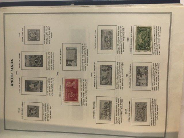 United States Liberty's Stamp Album 1947-1983