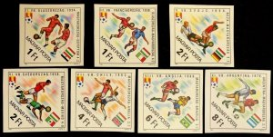 1982 Hungary 3538-3544b 1982 FIFA World Cup in Spain 22,00 €