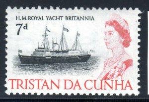 TRISTAN DA CHUNA     1965-67    SG78    LMM