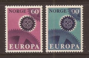 Norway scott #504-05 m/nh stock #T1835