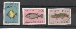 Mozambique 349-351 used