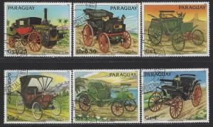 Paraguay Scott # 2081a - 2081f, used