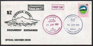 NEW ZEALAND 1989 Stampways Doc Exchange 30c on cover.......................79126
