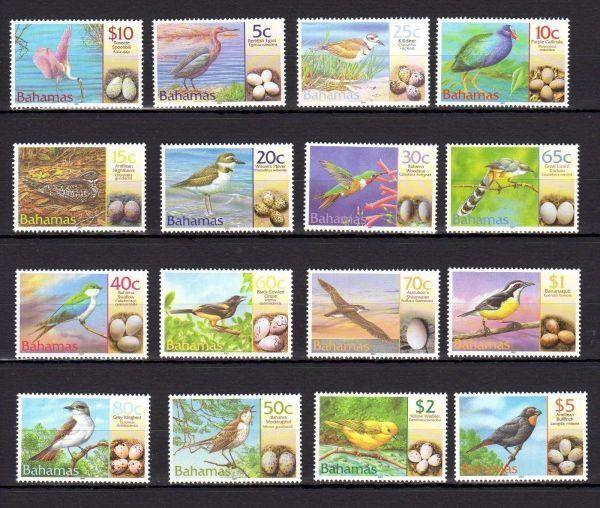 Bahamas, 2001. Birds, MNH