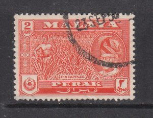 Malaya Perak 1957 Sc 128 2c Used