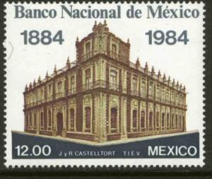 MEXICO 1349 Centenary Banamex, National Bank of Mexico MINT, NH. VF.