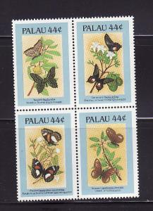 Palau 121f Set MNH Insects, Butterflies