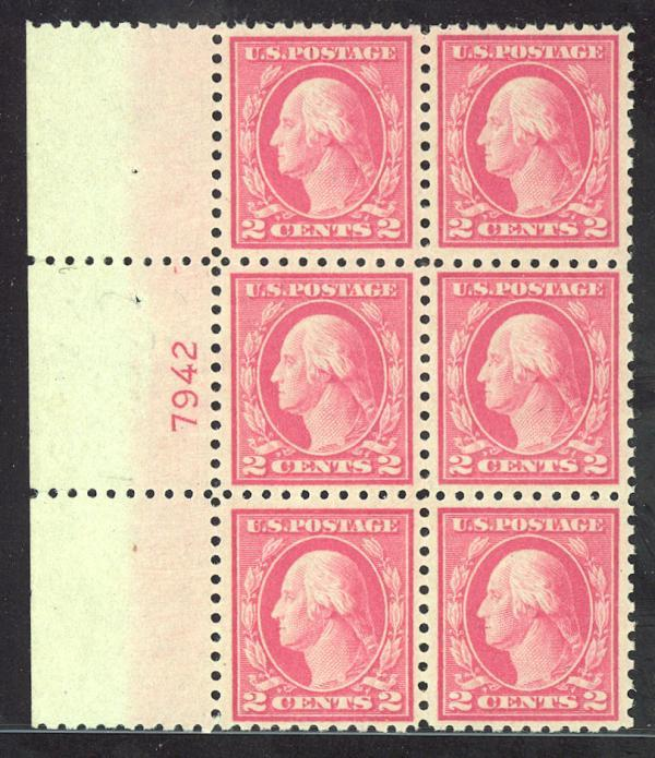 #467, Mint PB/6, VF-OG-NH, SCV $250