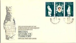 British Antarctic Territory, Polar, Worldwide First Day Cover, Royalty