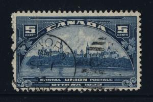 CANADA - 1933 - KENORA / ONT. DUPLEX CANCEL ON SG 329 - VERY FINE