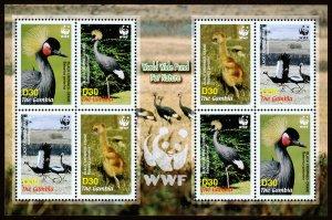 Gambia Scott 3014 (2006) Mint NH VF World Wildlife Fund Sheet C