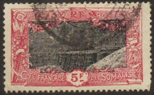 Somali Coast #118 used 5fr bridge