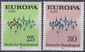 Germany #1089-90 MNH VF (B6749)