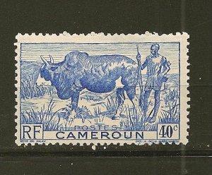 Cameroun 306 Zebu Herder Mint Hinged