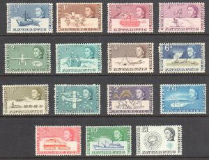 British Antarctic Territory #1 to 15 VF LH