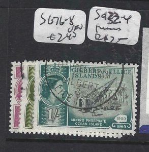 GILBERT & ELLICE IS (P0307B)   QEII   SG 76-8   VFU