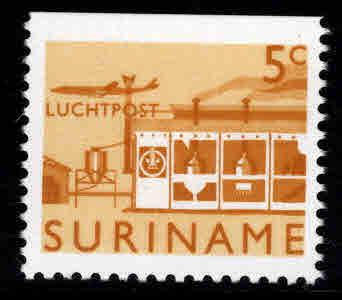 Suriname Scott C75, single from booklet MNH** airmail