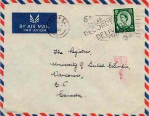 Great Britain, Airmail