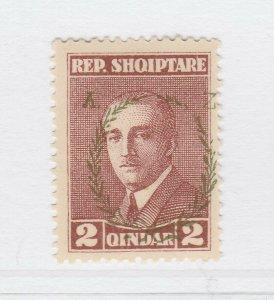 A3P18F44 Albania 1927 2q mh*