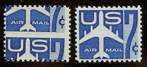 C51 - HUGE Misperf Error / EFO Right Down The Middle Mint NH