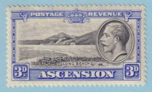 ASCENSION ISLAND 27  MINT NEVER HINGED OG ** NO FAULTS EXTRA FINE!