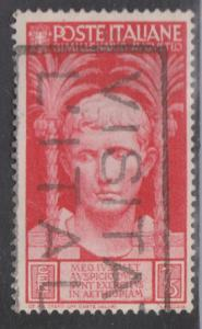 ITALY Scott # 383 - Used - Agustus Caesar