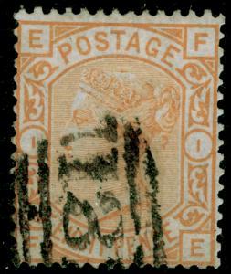 SG156, 8d orange, FINE USED. Cat £350. FE