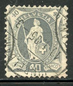 Switzerland # 84b, Used. CV $ 40.00