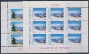 Makedonien stamp Europa CEPT: National Parks mini-sheet pair 1999 MNH WS115058