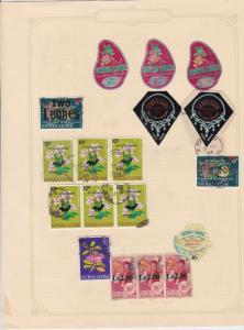 sierra leone stamps sheet ref 17772
