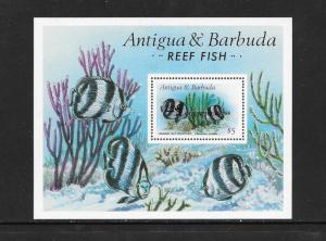 Fish - Antigua #1139A  MNH