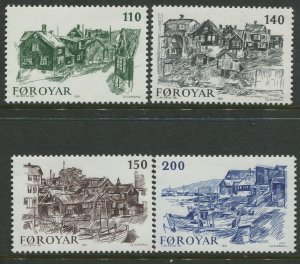 STAMP STATION PERTH Faroe Is. #59-62 Pictorial Definitive Issue MNH 1981 CV$2.00