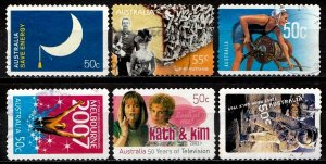 Australia Stamp Collection used (1271)