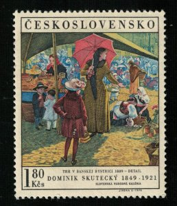 Art of 1889, MNH **, Dominik Skutesky, 1.80 Kcs (T-6823)