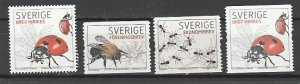 SWEDEN #2578-81 MINT NEVER HINGED COMPLETE